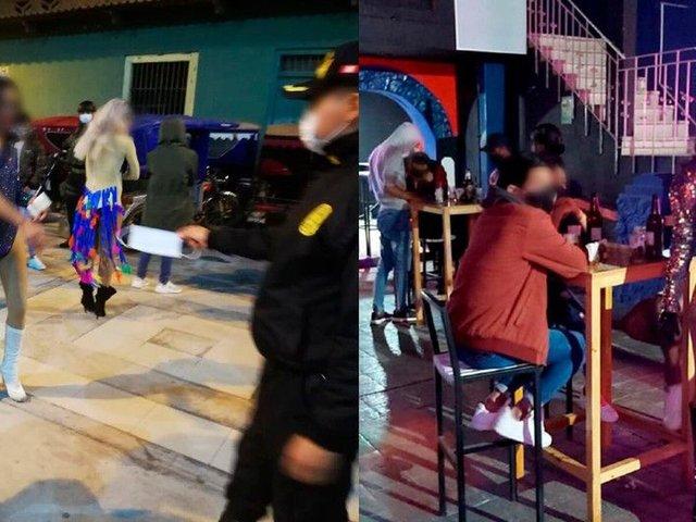 Chiclayo: PNP intervino fiesta Drag Queen, 15 años y prostíbulos