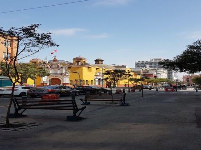 Centro de Lima: varias calles fueron peatonalizadas parcialmente