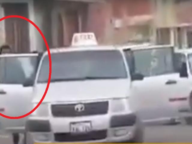 Tacna: marcas asaltan a balazos a cambista y luego huyen en taxi