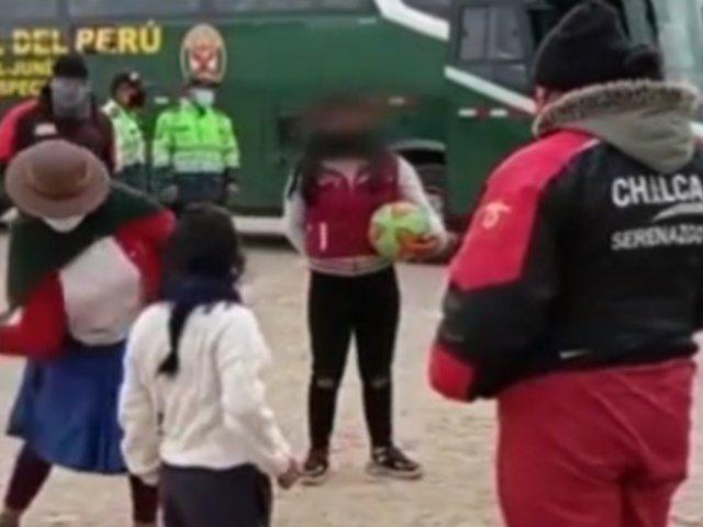 Huancayo: madre castigó a correazos a sus hijas por no respetar la cuarentena