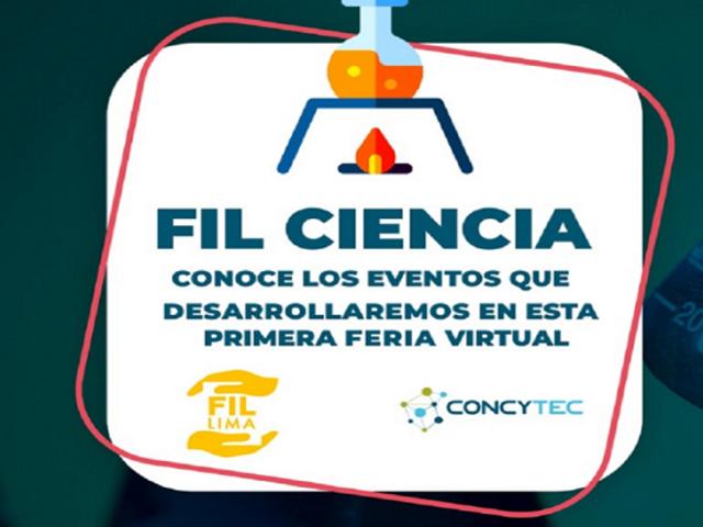 FIL 2020: Concytec divulga ciencia y tecnología por segundo año consecutivo en la Feria Internacional del Libro