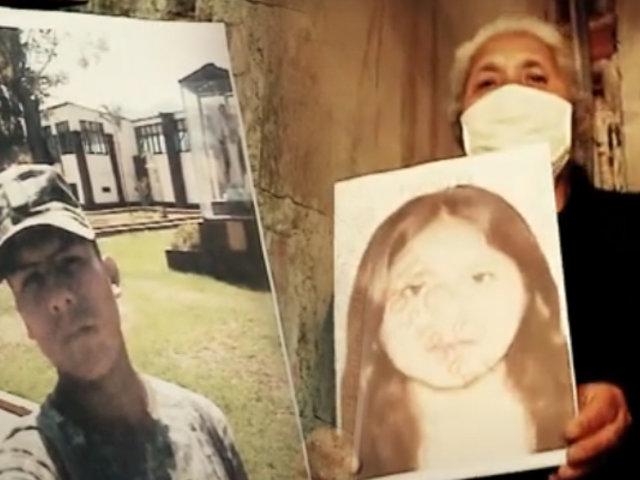 Familiares de joven desaparecida culpan a su violento enamorado