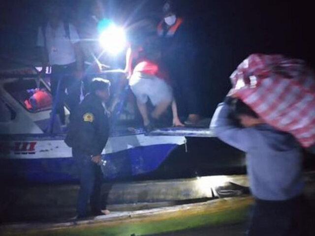 Reportan muertos y desaparecidos tras naufragio de embarcación en Loreto
