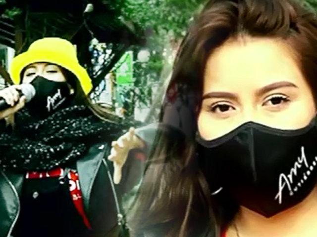 En Carne Propia; Amy Gutiérrez cantando en las calles por un sueño