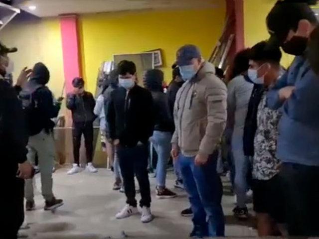 Chiclayo: 40 menores celebraban cumpleaños en discoteca