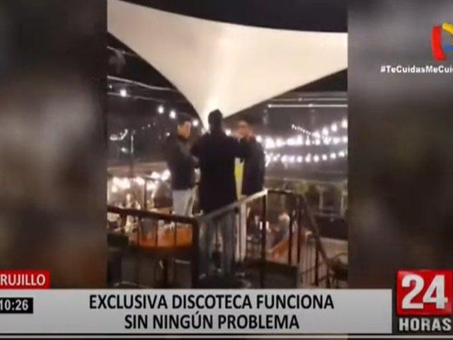 Trujillo: Exclusiva discoteca funciona sin ningún problema