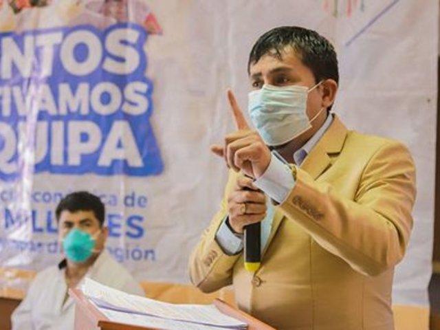 Gobernador regional de Arequipa pide a Castillo que ministros sean de ancha base