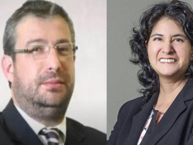 JNJ eligió a Piero Corvetto como jefe de la ONPE y a Carmen Velarde del Reniec