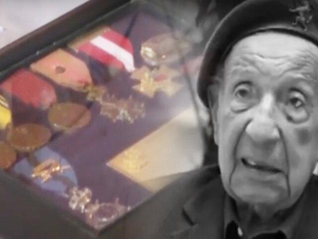 Así fue el último adiós al héroe peruano de la Segunda Guerra Mundial