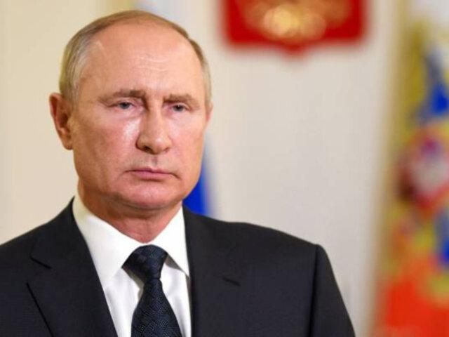 Rusia registrará segunda vacuna contra el Covid-19 en Septiembre, anuncia Putin