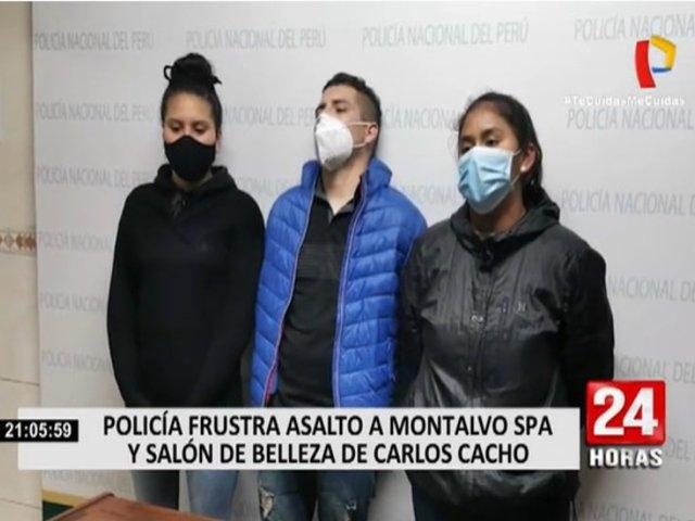 San Miguel: ladrones habrían estudiado la zona antes de intentar asaltar local de Montalvo
