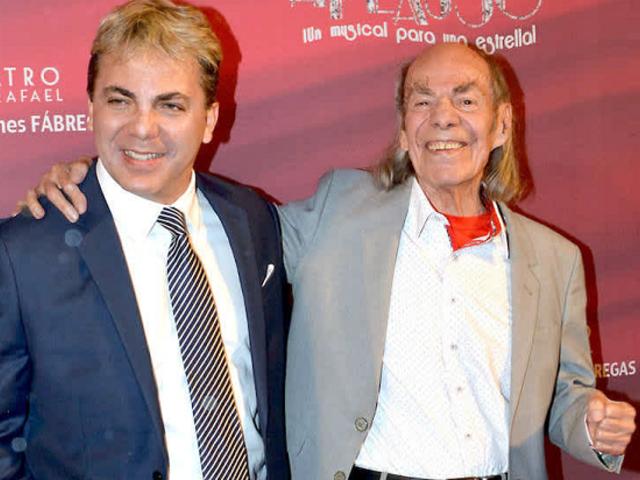 """Muere """"El Loco"""" Valdés, padre de Cristian Castro, a los 89 años"""