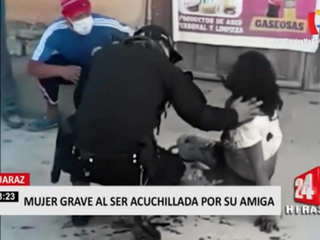 Huaraz: mujer quedó gravemente herida tras ser acuchillada por su amiga