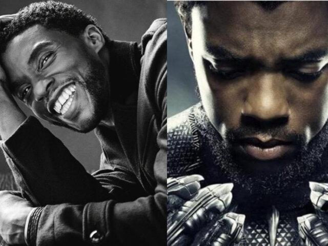 Muere a los 43 años Chadwick Boseman, protagonista de 'Pantera Negra'