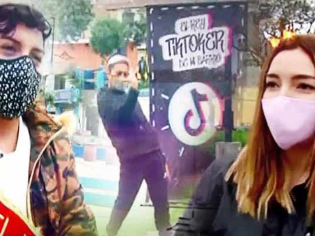 """Ellos son los nuevos """"Tik Tokers de mi barrio"""""""