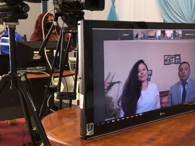 Cajamarca: realizan primer matrimonio virtual a través de zoom