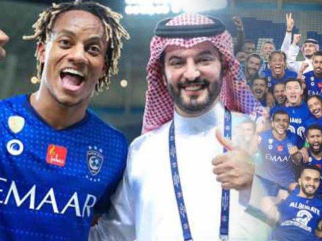 Carrillo se consagró campeón con Al Hilal en Arabia Saudita