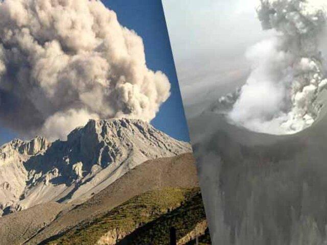 Volcán Sabancaya: confirman presencia de segundo domo de lava en cráter