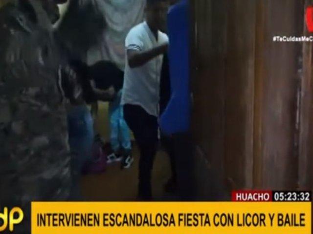 Huacho: militares intervienen a sujetos que realizaban fiesta en vivienda