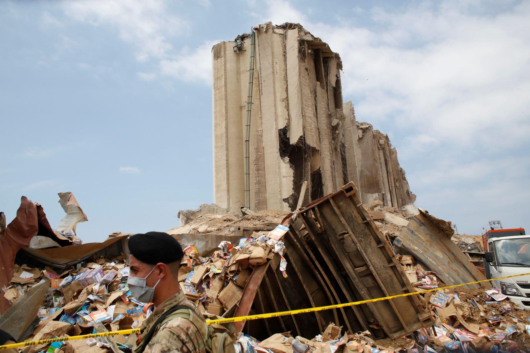 Líbano recibe más donaciones tras explosiones en Beirut