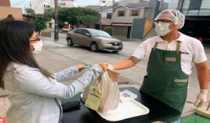 ¿Cómo desinfectar los alimentos que compramos por delivery?