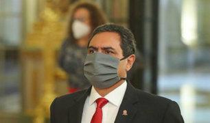 Jorge Montoya renunció a su cargo de ministro del Interior