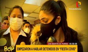 Empiezan a hablar extranjeros detenidos en 'fiesta COVID' en SMP