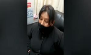 Detienen a mujer con 30 'ladrillos' de cocaína en dos mochilas