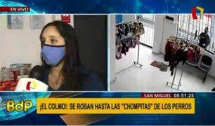 San Miguel: roban en veterinaria a plena luz del día y en domingo de inmovilización