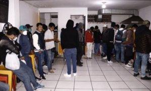 PNP informó que la mayoría de intervenidos por participar en reuniones sociales son hombres
