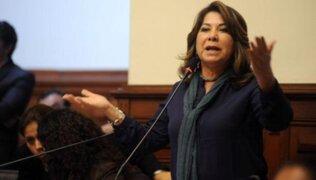 """Martha Chávez: Ética evaluará este sábado denuncia por sus """"expresiones racistas"""""""