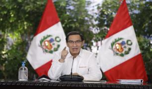 Vizcarra anuncia proyecto de reforma de pensiones a partir de 10 años de aporte