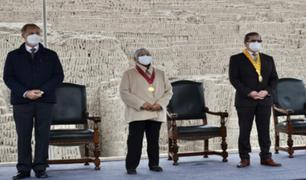 Miraflores: entregan reconocimiento a arqueóloga que puso en valor la Huaca Pucllana