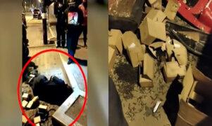 Chorrillos: Detienen a sujeto que arrojaba tachuelas y clavos en pistas