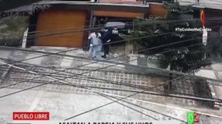 Pueblo Libre: Asaltan a pareja y sus hijos en estacionamiento de su edificio