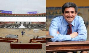 Ministro de Cultura dijo estar a favor de que se eliminen las corridas de toros en la Plaza de Acho