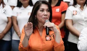 Fuerza Popular: No compartimos expresiones de Martha Chávez sobre Zeballos