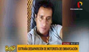 Callao: buscan a motorista de naviera desaparecido