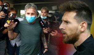 Padre de Messi llegó a España para reunirse con el presidente del Barcelona