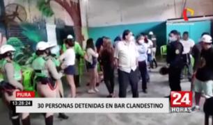 Piura: intervienen a más de 30 extranjeros en un bar que atendía a 'puertas cerradas'