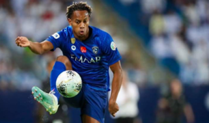 Carrillo jugó hacia el final en victoria de  Al Hilal sobre Al-Taawon