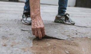 Barranco: vecinos denuncian que pista recién remodelada se está pelando