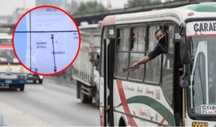 Unidades de transporte urbano que recibirán subsidio serán monitoreadas por GPS
