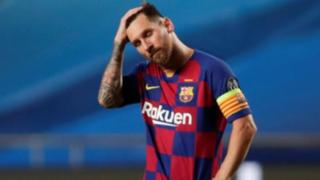 Homenaje de Messi a Maradona: FC Barcelona deberá pagar multa por festejo de la 'Pulga'