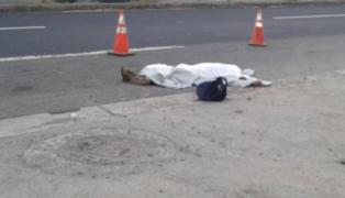 Anciano que vendía periódicos muere atropellado por tráiler en la Plaza Unión