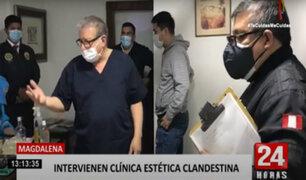 Magdalena: clínica estética clandestina funcionaba sin permiso municipal