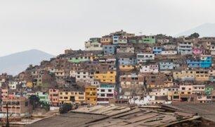 Más del 40% de las viviendas del país son de material precario