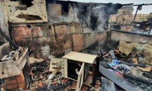 La Victoria: adulto mayor falleció junto a sus mascotas en un incendio de vivienda