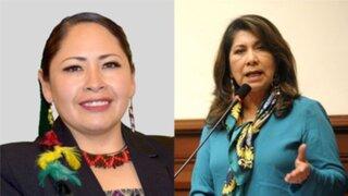 Senadora de Bolivia pide que Martha Chávez sea sancionada por declaraciones sobre Zeballos