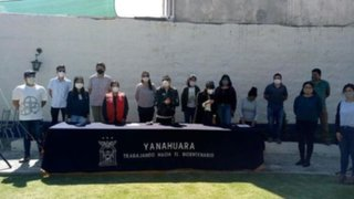 Arequipa: jóvenes voluntarios cuidan de ancianos enfermos con COVID-19